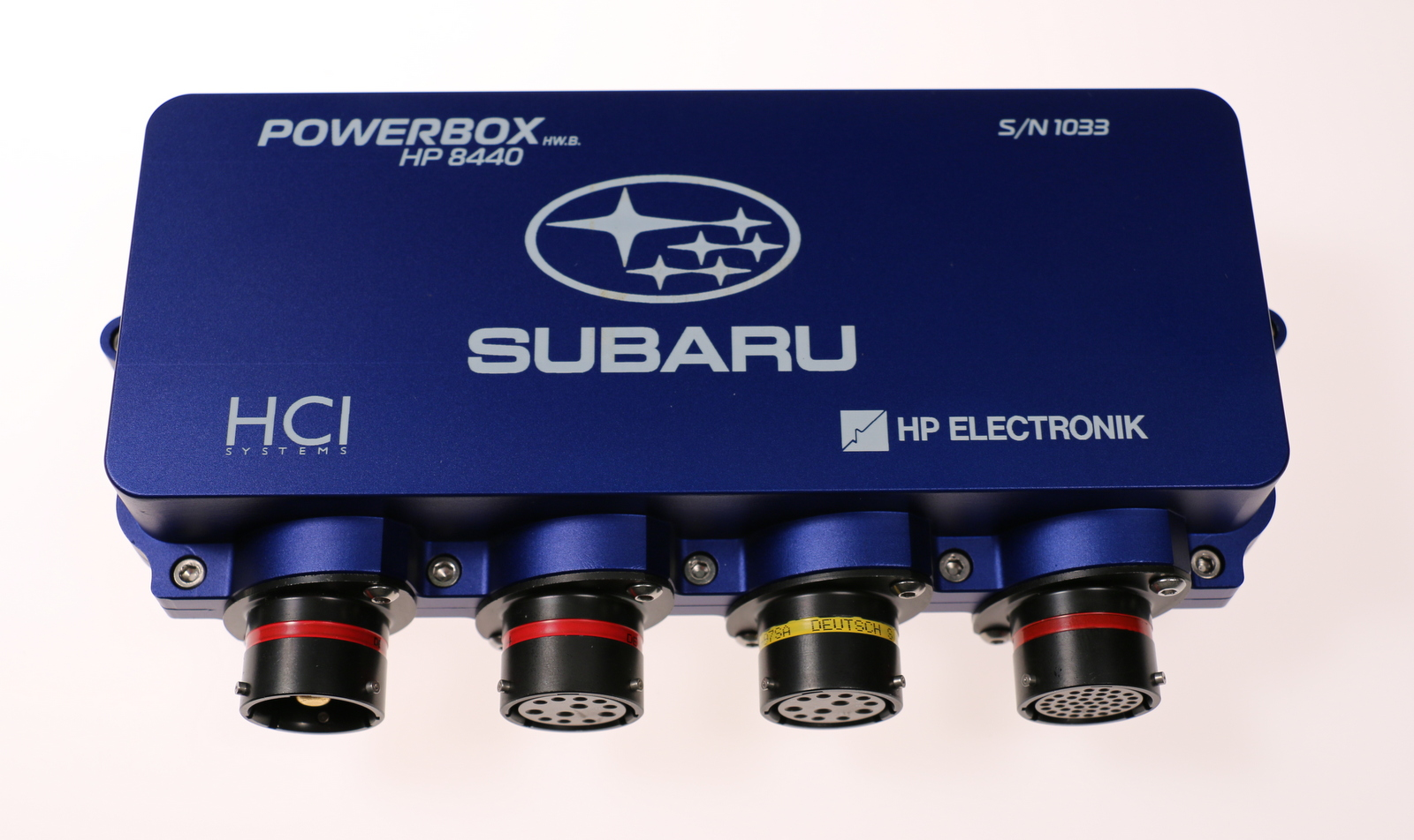 BOX PRIVATE LABEL SUBARU